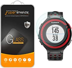 (2 Pack) Supershieldz for Garmin Forerunner 220, 225, 230, 235, 620, 630 Tempered Glass Screen Protector Anti Scratch, Bubble Free