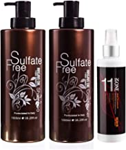 Argan Oil From Morocco Sulphate Free Shampoo (1000ml), Conditioner (1000ml) and 11 In 1 Hair Treatment Spray (250ml) Trio Pack