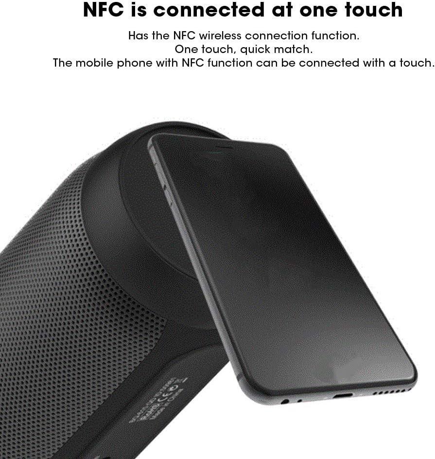 Qqmora overseas Bluetooth Speaker Special Campaign Portable 10W Black Loud Double Le Pisa