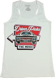 Supernatural Driver Picks The Music Junior's Racerback Tank Top