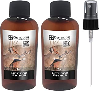 Outdoor Hunting Lab Hot Doe Estrus Buck Attractant Whitetail Lure Hunting Scent Natural Urine Deer Pee Heat
