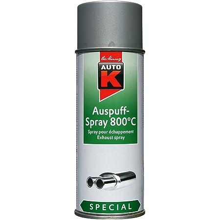 Kwasny 2x 233 099 Auto K Special Auspuff Spray Schwarz 650 C Lackspray 400ml Auto