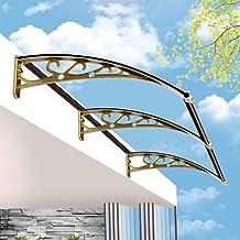 Mofei Luifel voor huisdeur, buitenraam, regenbescherming, zonwering, dakbedekking, huisdeurluifel, lessenaarsluifel, deurd...