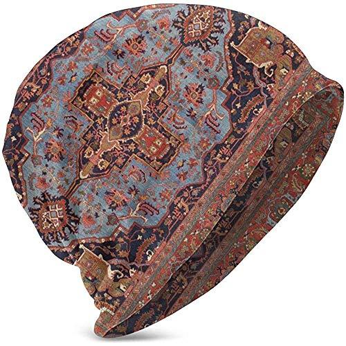 Gorros Unisex Gorros Tradicionales Persas Isfahan Alfombra Estilo Impreso Slouchy Cuff Skull...