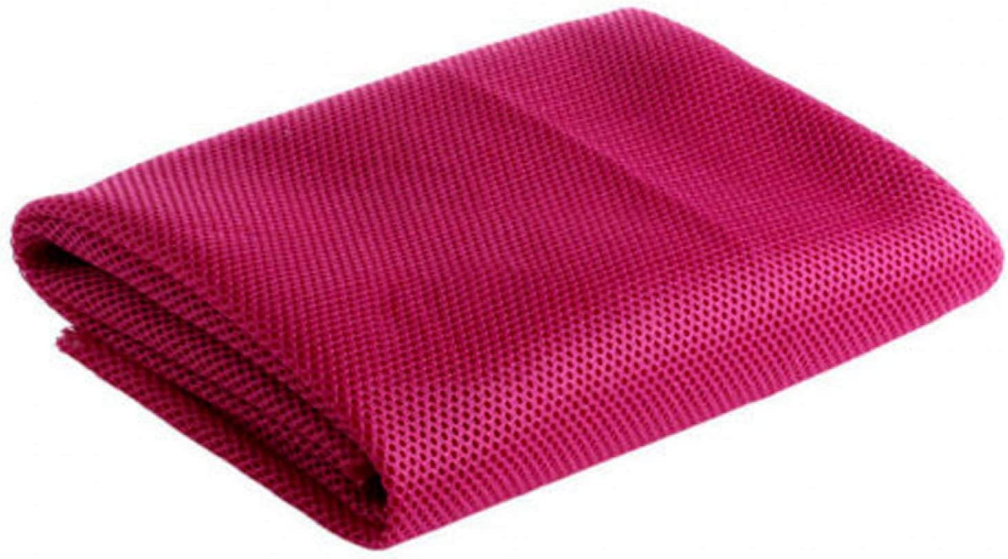 CALIDAKA Speaker Mesh Cloth, 140 X 50cm Speaker Grill Cloth Stereo Fabric Speaker Mesh Cloth Dustproof Protective Cover Replacement Applicable to Speakers/Stage Speakers/KTV(Rose Red) : Electronics