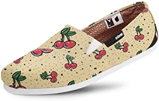 Alpargata Usthemp Slim Vegano Casual Estampa Cherry