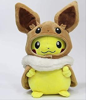 Abrigo, Capa, Vestido Cruzado De Pikachu, Almohada De Peluche De Pikachu Con Vestido Cruzado De Ibrahimovic, Almohada De F...