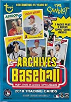 2018 Topps Archives MLB Baseball Series Unopened Blaster Box with a Chance for Shohei Otani Rookie Cards and Tons of Autographs plus 2 EXCLUSIVE Topps Coins Found only in Retail Products