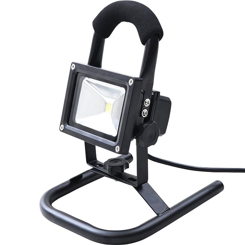 利得反映する時計回り大同通商 プロメイト(PROmate) LED投光器 簡易防雨タイプ (10W) PRLL-10W