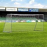 FORZA But de Football en Acier Steel42 | Cage de Foot pour Entraînements, Matchs ou Jardin (4 Tailles) (5m x 2m)