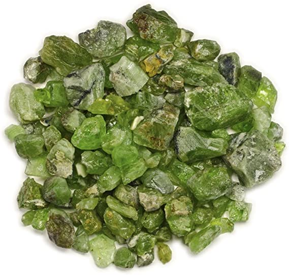 200g Peridot Crystal Set Mixed Sizes Huge Bulk Lot Item:P16061 - Pakistan