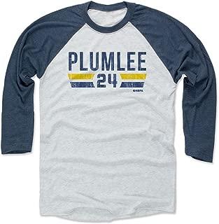 Mason Plumlee Shirt - Denver Basketball Raglan Tee - Mason Plumlee Denver Font