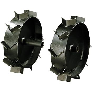 Mculloch 577702001 Kit butteur avec roues m/étal TAO020 pour motoculteur MFT44-154R Noir