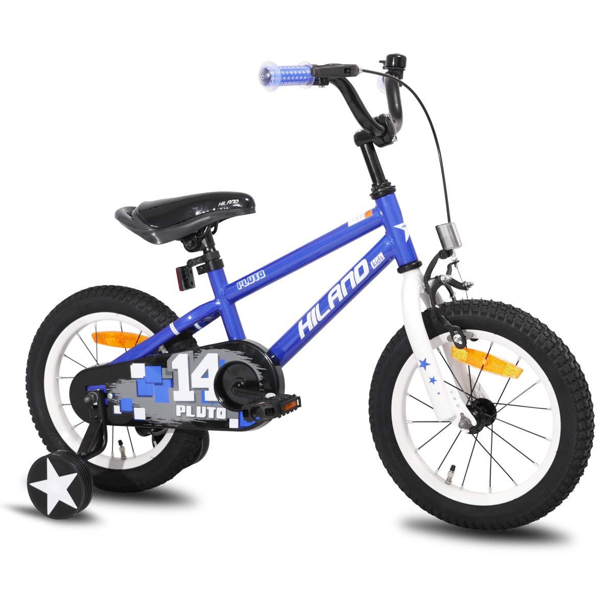 HILAND Pluto - Bicicleta infantil de 3 a 6 años, con ruedas de ...