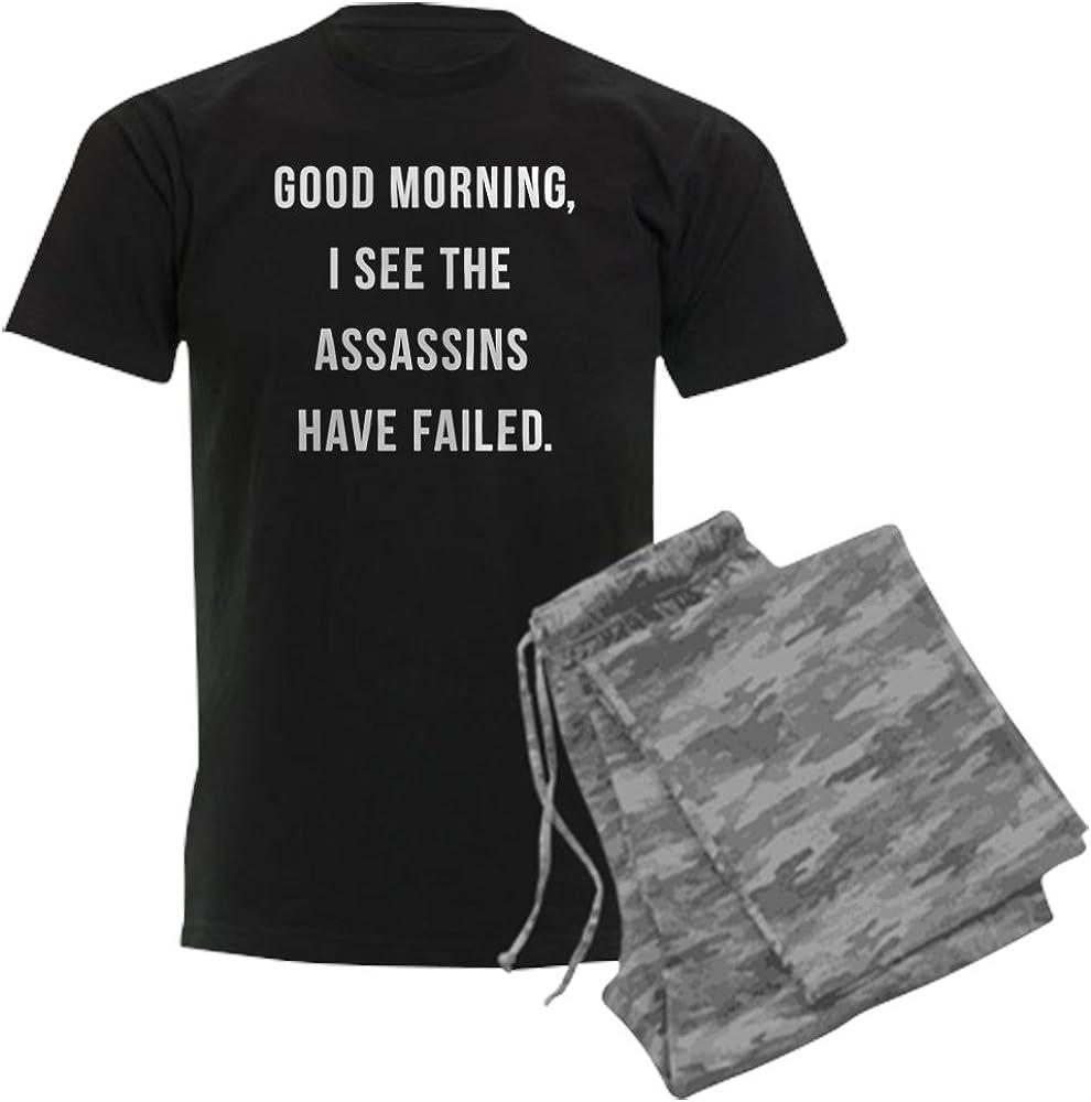 CafePress Good Morning I See San Antonio Boston Mall Mall Have Set Assassins Pajama The