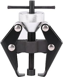 Qiilu 45# Extractor de terminales de batería de coche de acero al carbono, herramienta de reparación de extractor de brazo...