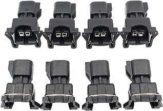 GooDeal 8pcs Fuel Injector Connector Adapter EV6 to EV1 USCAR LS2 LS3 LSX LS1 LT1 TPI