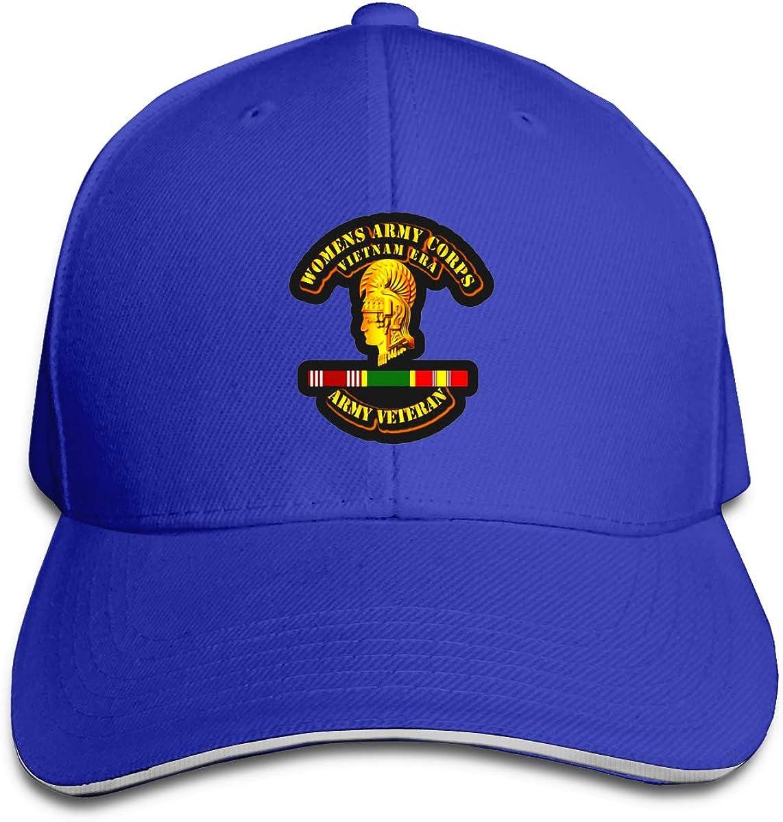 Army Vietnam Era Veteran Boy Women Classical Hat Fashionable Peak Cap Hats U.S