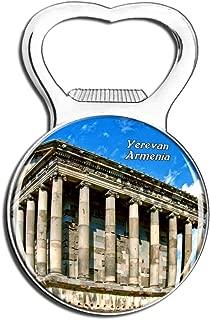 Weekino Garni Temple Yerevan Armenia Fridge Magnet Bottle Opener Beer City Travel Souvenir Collection Strong Refrigerator Sticker