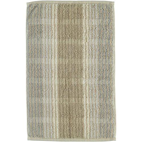 Cawö Home Handtücher Noblesse Cashmere Streifen 1056 Sand - 33 Gästetuch 30x50 cm