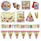Procos 412253 Kinderpartyset Winnie Pooh Alphabet
