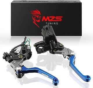 MZS 7/8 levers - Brake Master Cylinder Clutch Lever Set...