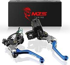 MZS 7/8 levers Brake Master Cylinder Clutch Lever Set...