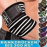 C.P. Sports Bankdrücken Profi Ellenbogen Bandagen 1 Paar, Fitness, Crossfit, Sportbandage,...