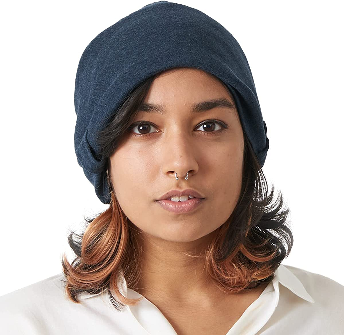 CHARM Organic Cotton Slouchy Beanie Womens Max 85% OFF - Soft Max 44% OFF Summer Slouch
