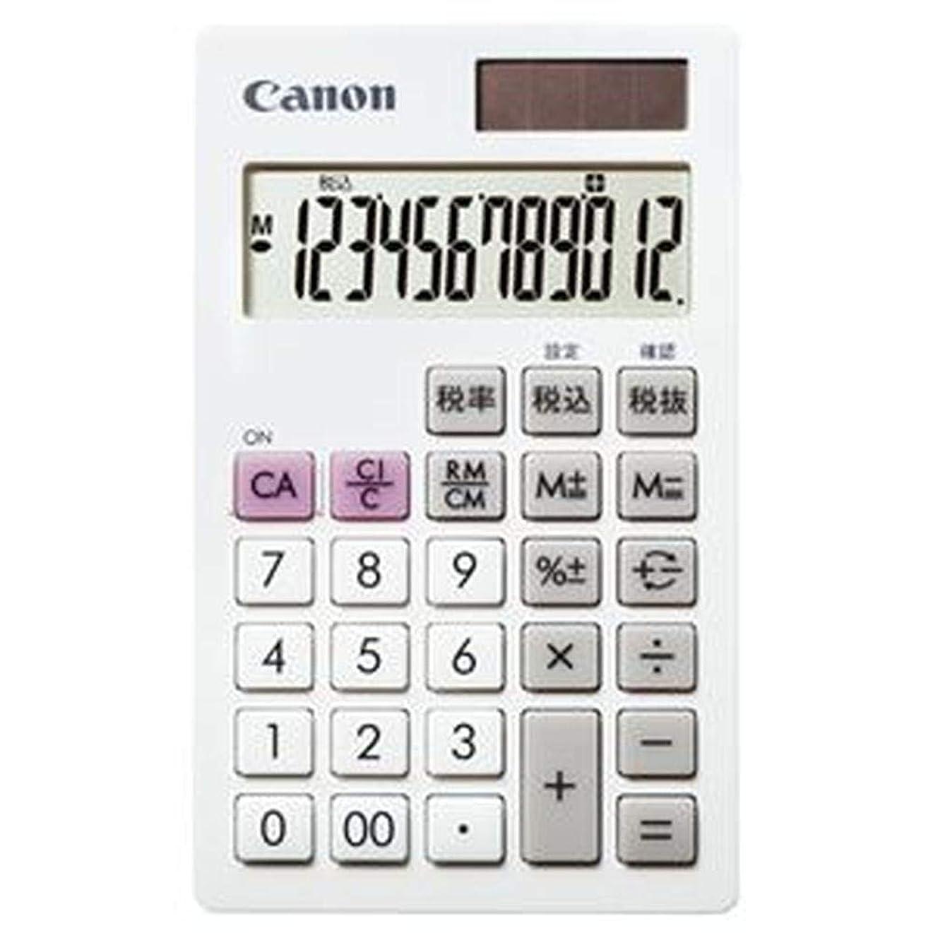 リブウェイドホールドオール==まとめ== キヤノン?電卓?LS-12T?12桁手帳サイズ?ホワイト?7427B002?1台-×5セット-