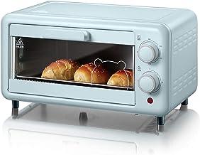 La capacidad de la nostalgia, el horno de la tostadora de convección retro de multifunción de la nostalgia, se adapta a 12 rebanadas de pan y dos pizzas, el temporizador incorporado, incluye pan para