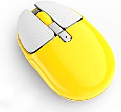 Bluetooth Wireless Mouse, Uciefy M106 Dual Mode Rechargeable Bluetooth 5.0 and 2.4G Wireless Mouse with USB Receiver, Sile...