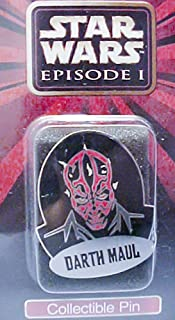 Star Wars Episode 1 Collectible Darth Maul Pin