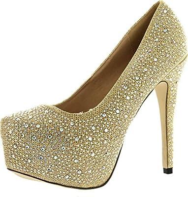 Popular Bling Wedding Shoes for Brides •