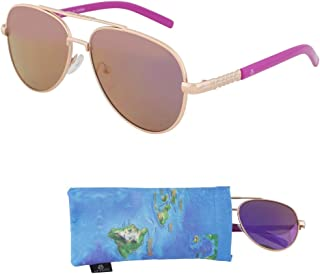 Sunglasses for Teens – One Piece Mirrored Lenses for Teenagers - Ages 12 to 18