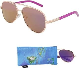 REVO Aviator Sunglasses for Teens – Mirrored Lenses for Teenagers - 100% UV Protection