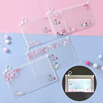 収納ケース 携帯ケース 携帯用 4枚セット 防水 防塵 抗菌 PP製 小物収納 軽量 コンパクト