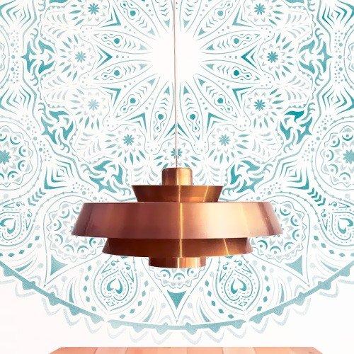 Alles Stencil Home Decor Rosette 014Mandala, Maßnahmen: Stencil 30x 30(A) cm–Design 28x 28cm