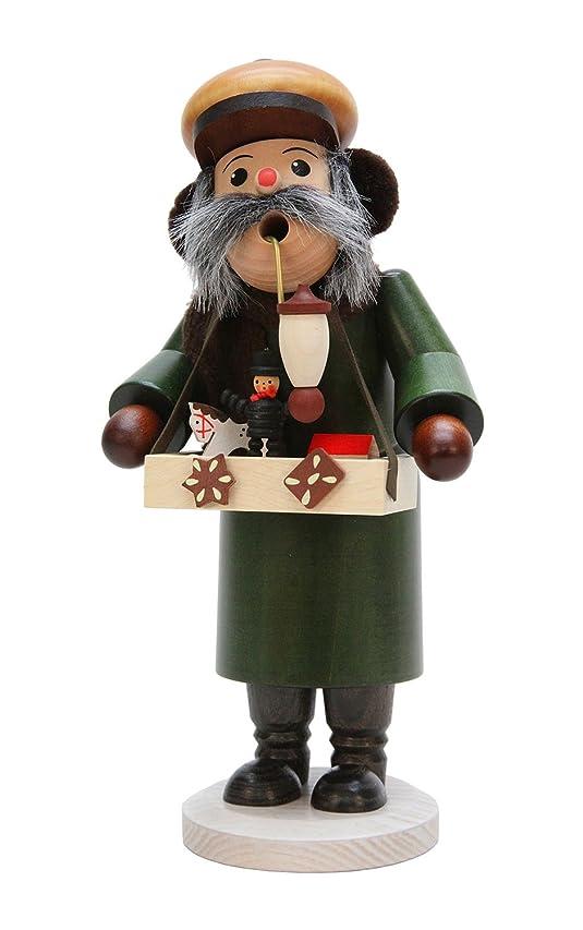 ピルファーブラウン調和Alexander Taron 35-274 Christian Ulbricht Incense Burner - Toy Merchant with Many Small Toys