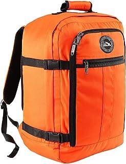 Cabin Max® Mini Metz Sac à Dos Cabine 30L – Bagage à Main pour Enfants - Léger et Spacieux - Taille 45 x 35 x 20 cm, Orange