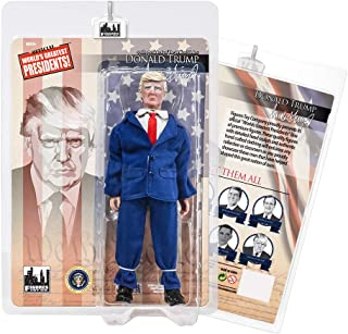 US Presidents 8 Inch Action Figures Series: Donald Trump [Blue Suit]