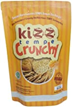 Kizz Tempe Crunchy Tempe Chips Made From Soy (Spicy, 75 gram)