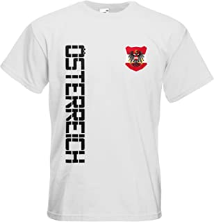Österreich Austria T-Shirt Name Nr Fanshirt Trikot EM-2021