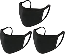 3 PCS Unisex Covering with Comfortable Earloop Individually Washable