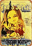 RTOUTS 1969 Janis Joplin In Wichita Metallschild