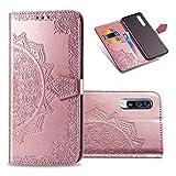 COTDINFORCA Samsung Galaxy A70 Wallet Case, Slim Premium PU Flip...