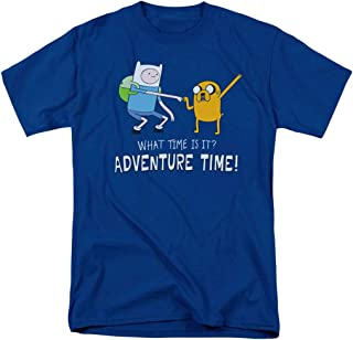 Adventure Time What Time is It Cartoon Network T Shirt & Stickers