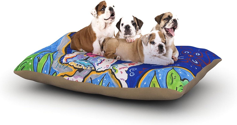 Kess InHouse Rebecca Fischer Addy Mae Pug Terrier Dog 30 by 40Inch