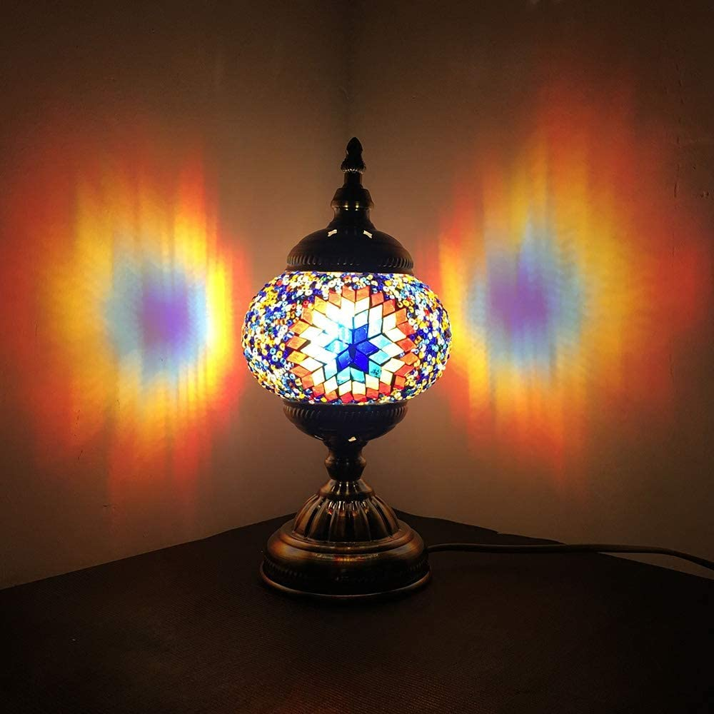 All items in the store Turkish Mosaic Lamp NBHUZEHUA Unusua Vintage Glass Stained Moroc Dealing full price reduction