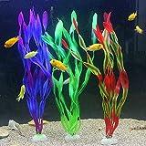 ZUOLUO Plantas Acuario Plantas Acuario Naturales Acuario decoración Ornamento Accesorios de pecera Tropical Acuario Agua Plantas 3pcs